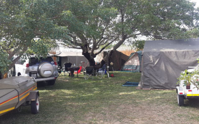 Camping accommodation at Utshwayelo Lodge Kosi Bay
