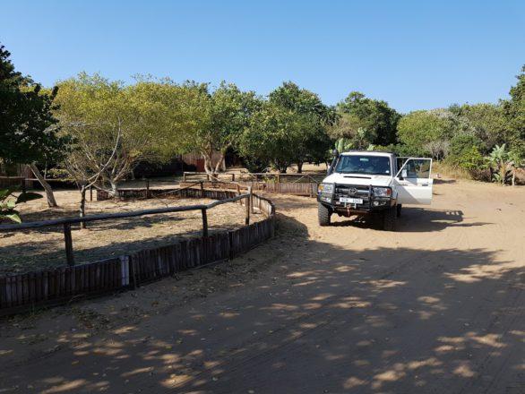 Utshwayelo Lodge at Kosi Bay