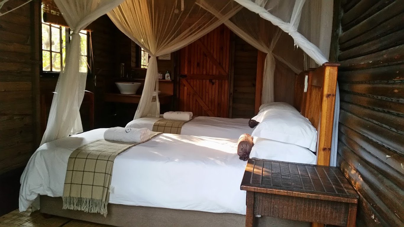 Hippo Chalets at Utshwayelo Lodge in Kosi Bay