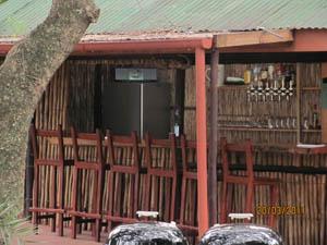 Fishtrap Bar at Utshwayelo Lodge & Camp, Kosi Bay