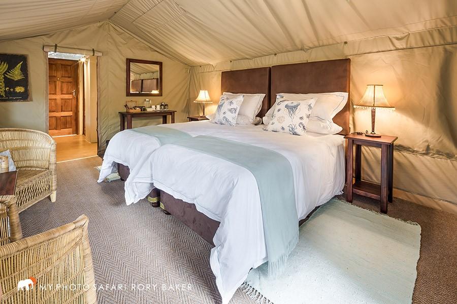 Kosi Bay Accommodation - luxury Tusker tent